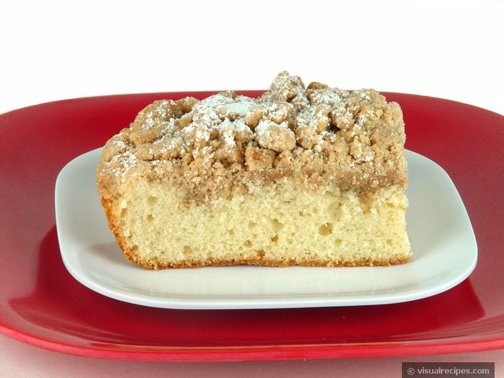 Coffee Cake / Crumb Cake Recipe - Visual Recipes