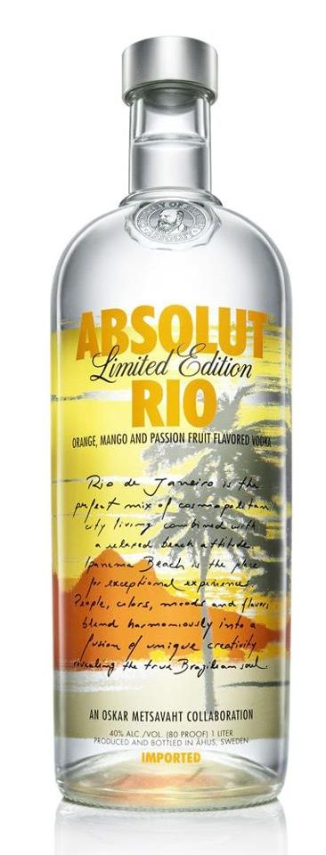 Absolut Rio bottle! Want one!