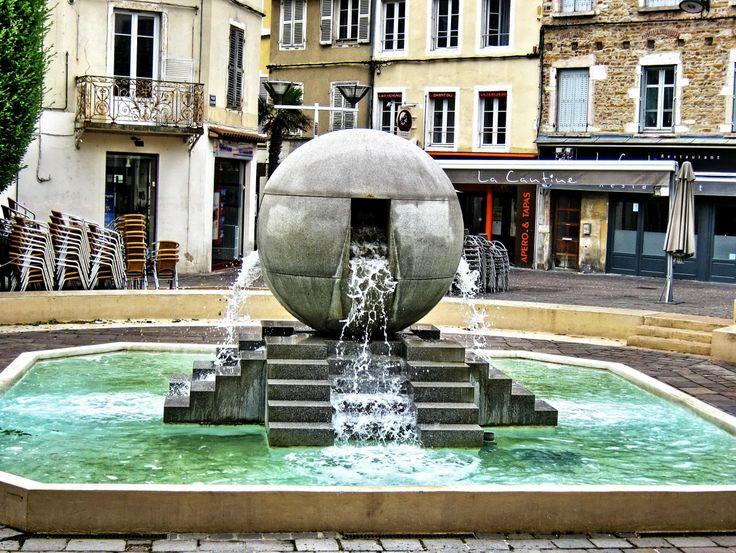 Fontaine Colonne Aix En Provence Hotel De Ville