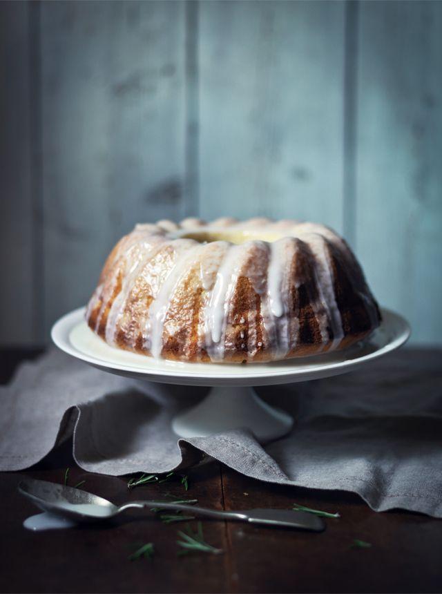 Lemon and Rosemary Cake, Lemon Drizzle Icing
