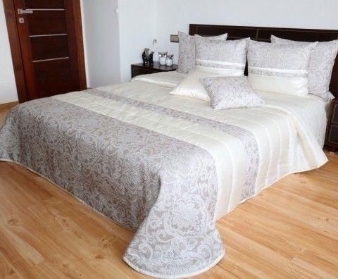 c9b3b0769ea30 Luxusny kremovo bezovy prehoz na postel | Luxusné prehozy ...