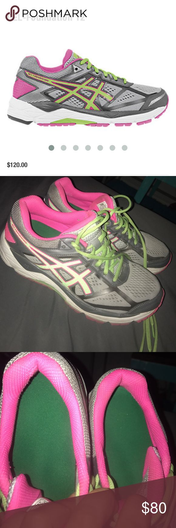 asics gel foundation 10 rouge