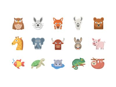 Animal Emoji Set