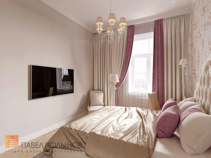 Фото дизайн спальни для гостей из проекта «Дизайн квартиры 151 кв.м. в клубном доме «DEL' ARTE», современная классика»
