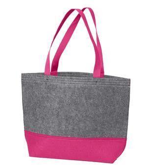 Easy-to-Decorate Felt Wholesale Tote Bags Medium