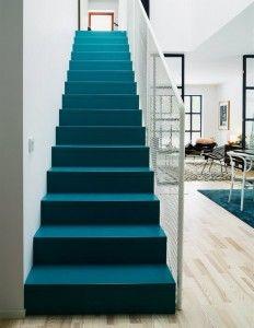 Niebieskie schody