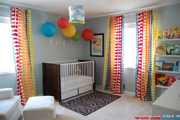 17 Best Images About Colorful Nursery Design Ideas On