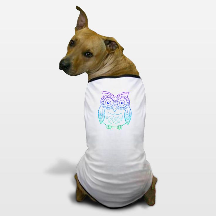 Shop for unique nursery art like the owl Dog T-Shirts by haroulita on BoomBoomPrints today!  Customize colors, style and design to make the artwork in your baby's room their own!