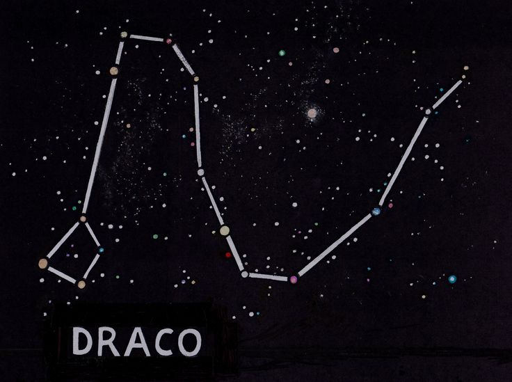 Constellations Draco Constellation And Search On Pinterest