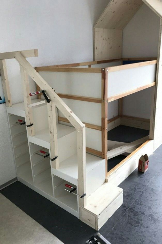 Kura Bett  Kura Bett  #Bett #Kura  The post Kura Bett appeared first on Kinderzi… #Ikea Hack Kinderzimmer