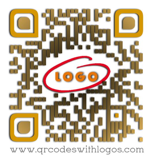 Having your LOGO embedded in your URL QR Code increases your scans by 47%! (Sample only)
