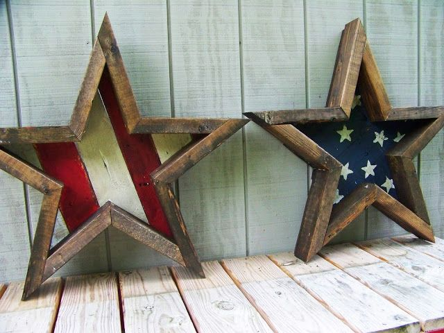 DIY 4th of July Stars