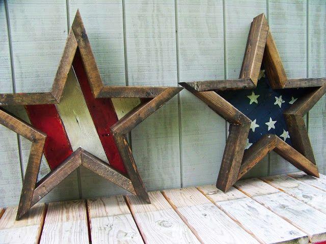 DIY 4th of July Stars