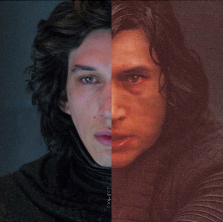 Kylo 2.0 lol personally I think he looked cute in TFA but he's adorable in TLJ too!