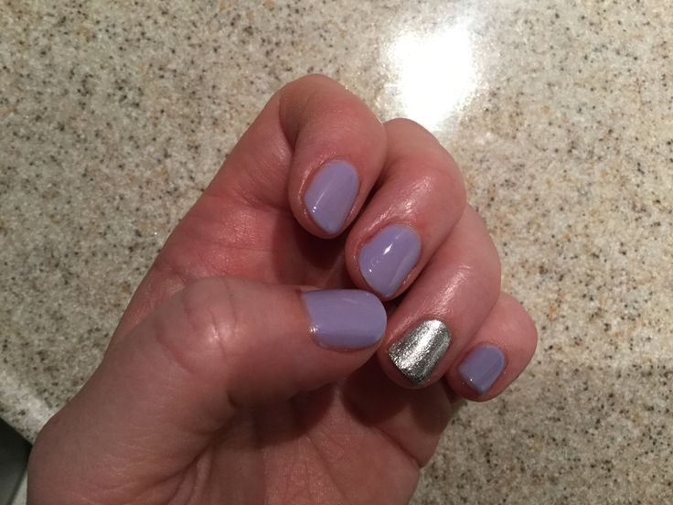 Lavender Sally Hansen Gel Polish