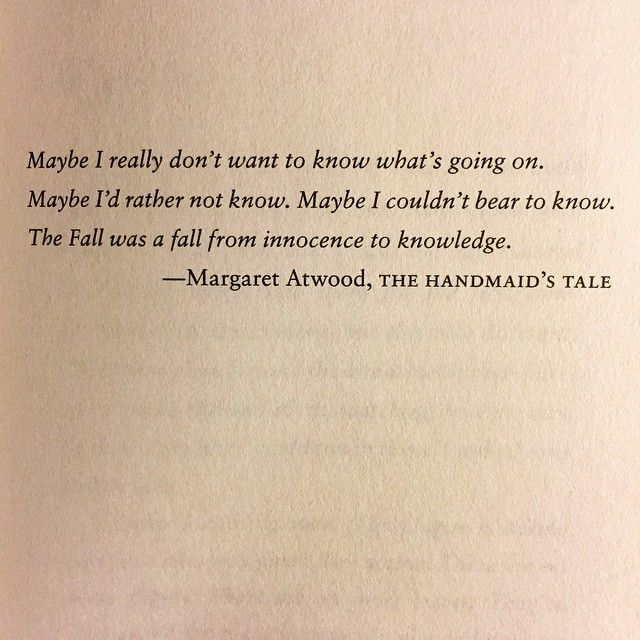 understanding rebellion in the book the handmaids tale by margaret atwood This year sees the 25th anniversary of the publication of margaret atwood's dystopian classic, and to honour the occasion, the book has been reissued by vintage the handmaid's tale tells the.