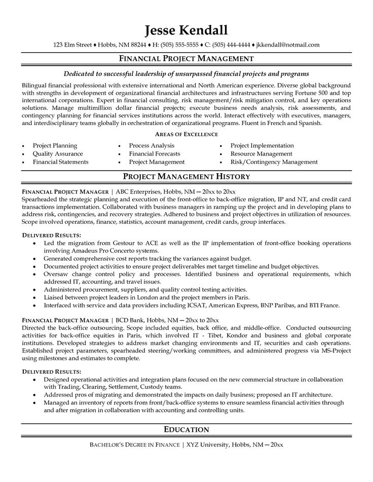 Project Coordinator Resume Examples Endearing 119 Best Resume Examples Images On Pinterest