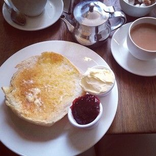 A Sally Lunn at Sally Lunn's, Bath | 18 British Desserts You Must Try Before You Die