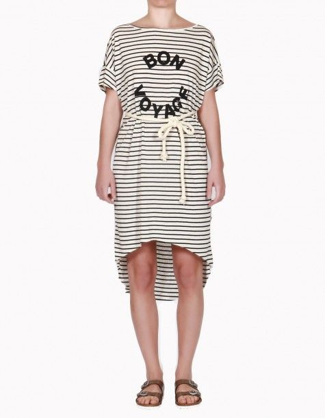 "TAG stripe Dress ""Bon Voyage"""