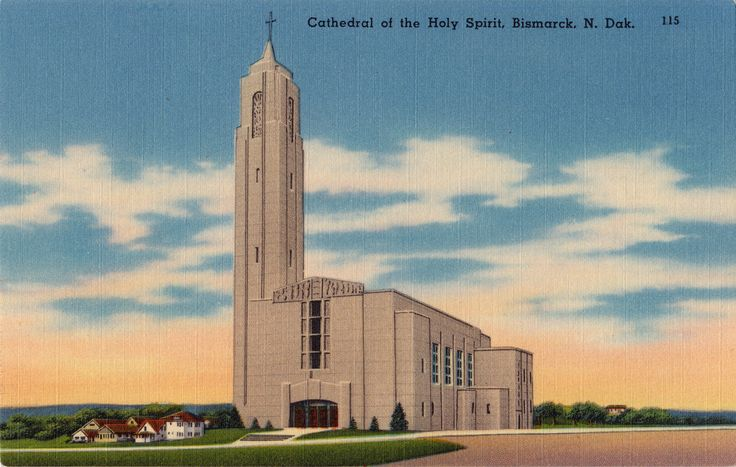 Cathedral in Bismarck, North Dakota.
