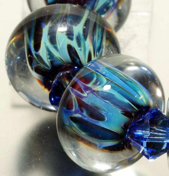 Glass Lampwork Boro BeadsGlass BeadsBoro BeadsHandmade By by amie3, $26.99