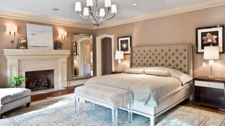 Traditional Master Bedroom within Romantic Touch