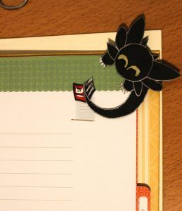 DIY Toothless bookmark paper easy