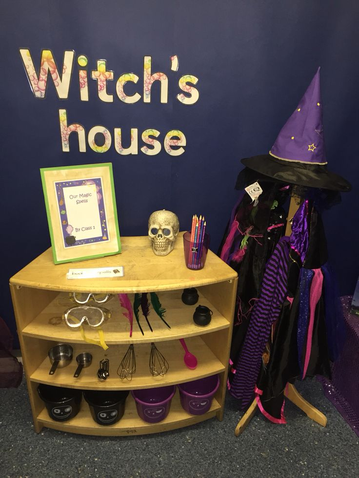 Witch's house role play #reception #earlyyears #juliadonaldson #roomonthebroom