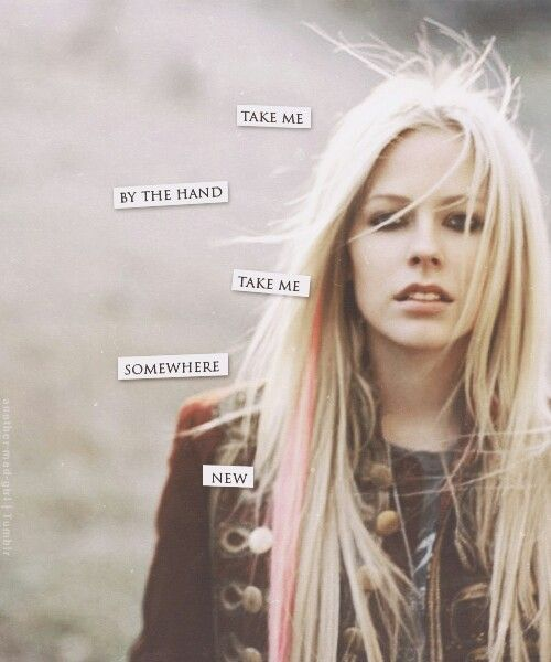 Avril Lavigne - I'm with you ♥