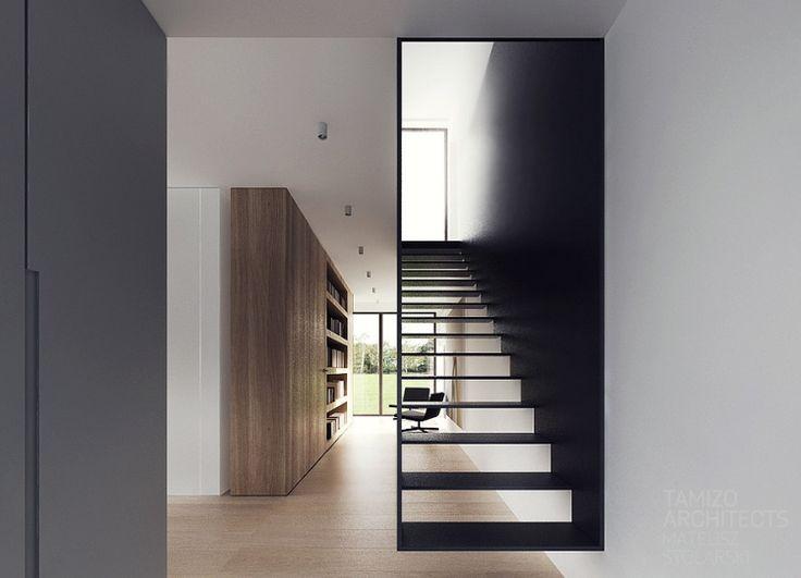 Die besten 25+ schwarze Treppe Ideen auf Pinterest | schwarz ...