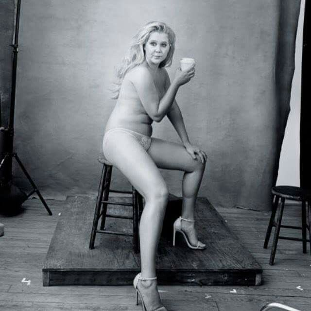 """""""Beautiful, gross, strong, thin, fat, pretty, ugly, sexy, disgusting, flawless woman. Thank you Annie Leibovitz"""""""