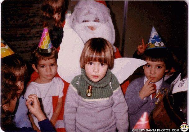 SCARY SANTA HAS NO FACE - Creepy Santa