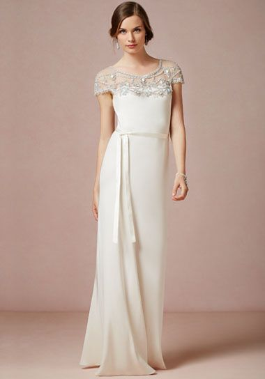 Harlow Gown from BHLDN - the perfect Art Deco dress!