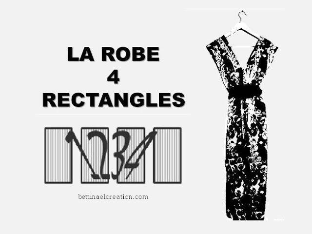 Comment Coudre La Robe 4 Rectangles Comment Coudre Modele De Robe Gratuit Coudre