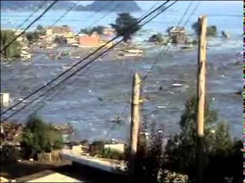 "Chile Tsunami ""Live"", 2010. Record. ""Earthquake""... its not in english, i could not find one."