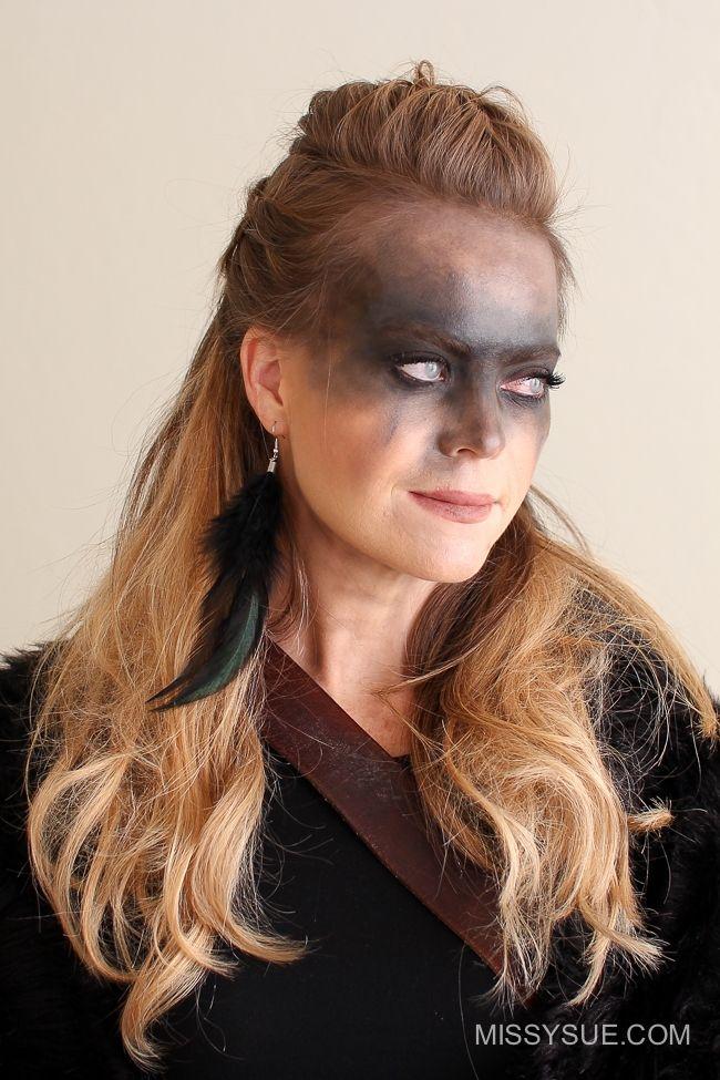Viking Warrior Halloween Hairstyle Missy Sue In 2020 Halloween Hair Hair Styles Viking Hair
