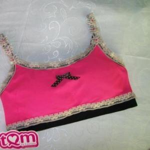 """Este diseño """"PINK"""" hace parte de Hazlo tuyo, sólo tuyo de TQM by Leonisa."""