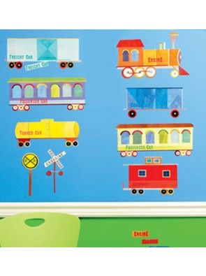Wall Play Train Ride