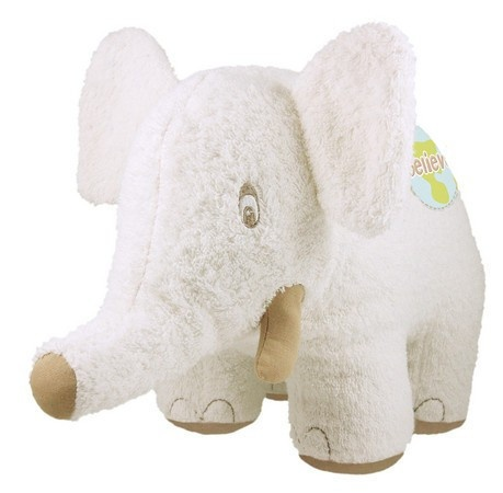 Dandelion Plush Baby Elephant Organic Cotton