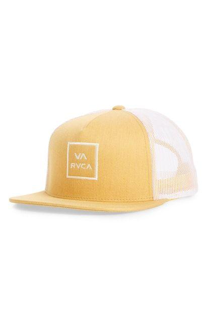 info for 4bf77 576a3 RVCA VA ALL THE WAY TRUCKER HAT - ORANGE.  rvca