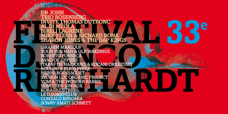 Festival Django Reinhardt - Samois sur Seine - Du 27 juin au 1 juillet 2012