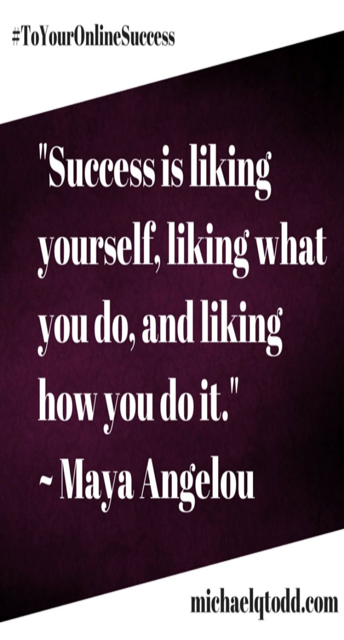 14 best do good work images on pinterest quote reputation success is liking yourself maya angelou along with cats funny memes and gifs inspirational solutioingenieria Gallery