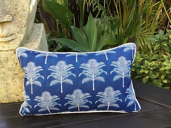 Outdoor Pillows Palmtree Cushions Palm Life Outdoor Cushions Cushion Cover Tropical Pillow Indoor Outdoor Cushion Cover Pil Outdoor Cushion Covers Outdoor Cushions Bean Bag Covers