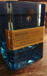 Jhonnie Walker Blue Label un vaso con todo el estilo boutique de Green Glass. Este exclusivo product