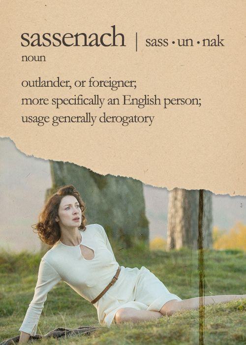 """ Speak Outlander Lesson 1 - Sassenach """