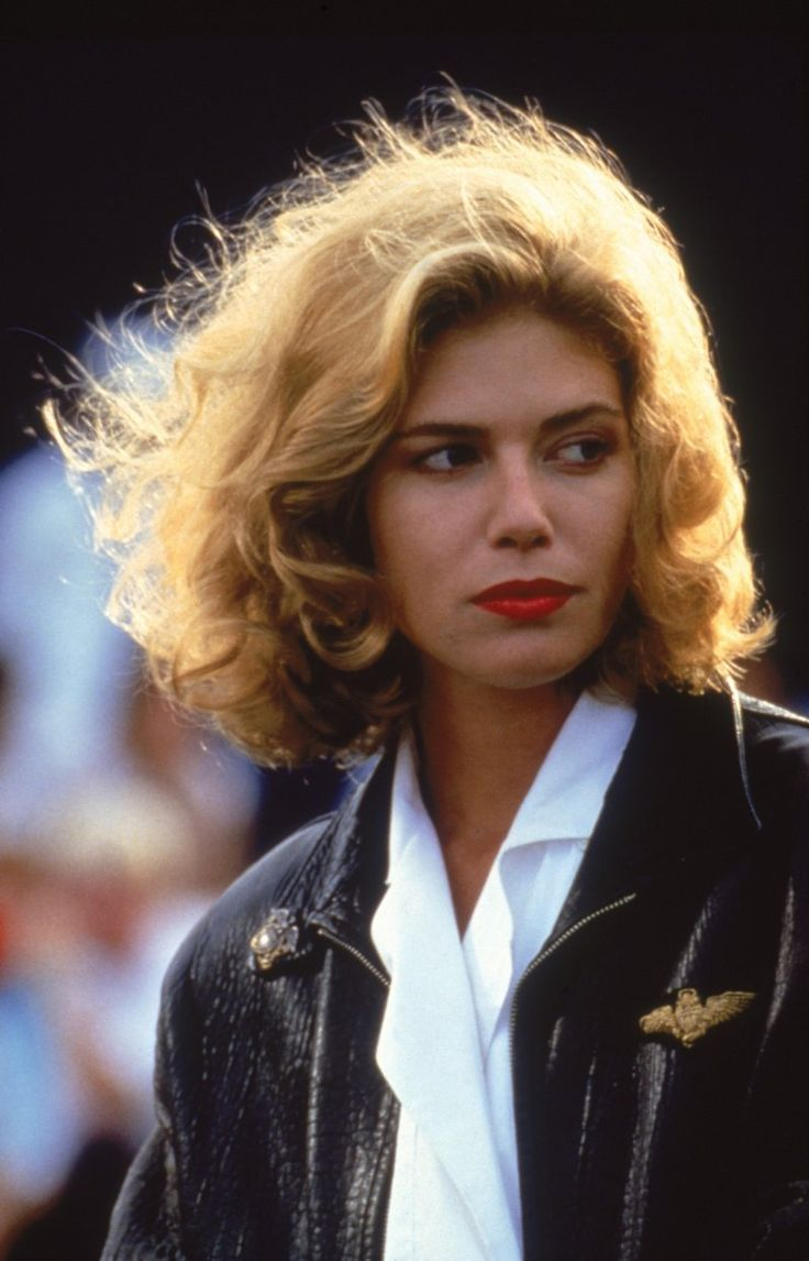 "Kelly McGillis as Charlie in ""Top Gun"" (1986)"