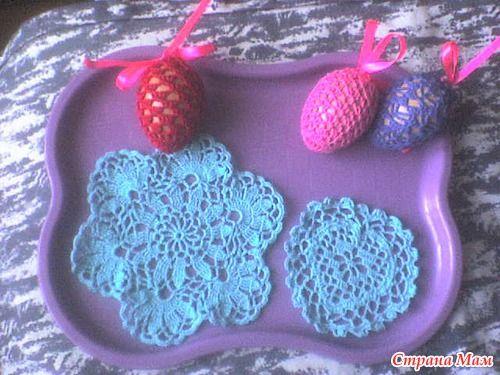 Мешочки для яиц на Пасху