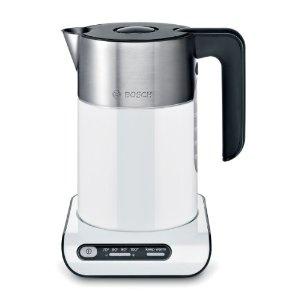 Bosch TWK8611 Wasserkocher Styline / Kunststoff mit Edelstahlapplikationen / für 1,5 l / 2000-2400 Watt max