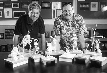 Andrew Stanton and John: Two men who are absolutely incredible and inspire me.