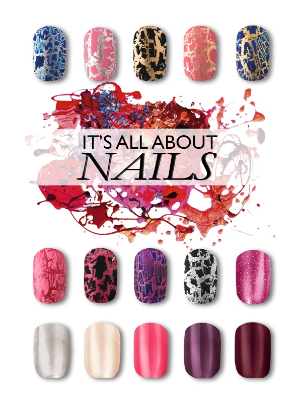 It's all about nails and we love it!